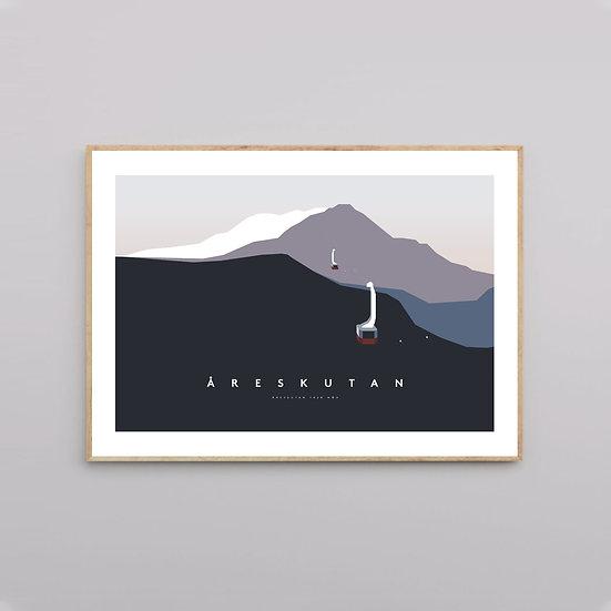 """Åreskutan """"Frost"""" poster"""