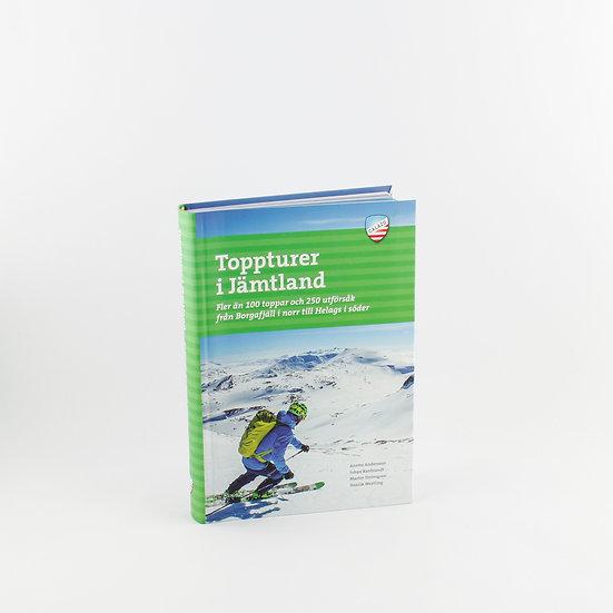 """Bok """"Toppturer i Jämtland"""""""