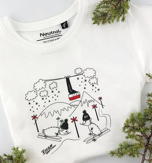 T-shirt för barn med motiv av Åre kabinbana
