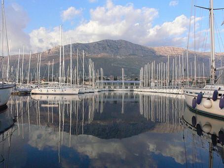 Charter base and region in Croatia