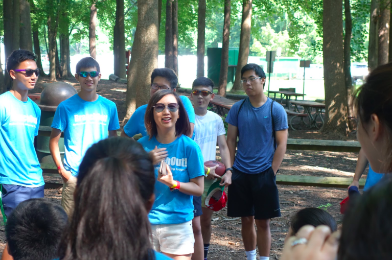Dr. Wu introduces BranchOut! And congratulates mentors