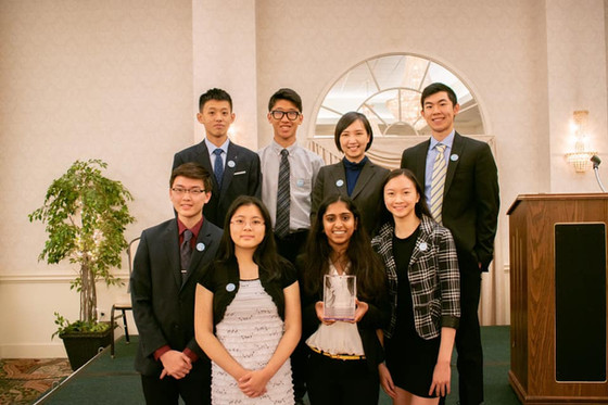 BranchOut! obtains Gold Star Group Volunteer award from the Fairfax NCS