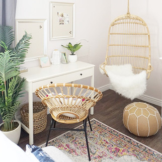 Boho Teen Bedroom | Home & Office Interior Decorator | Arizona