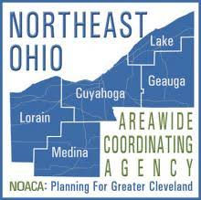 Counties included in the Northeast Ohio Areawide Coordinating Agency