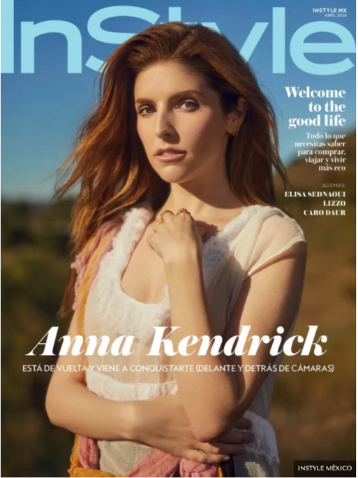 InStyle Mexico x Anna Kendrick