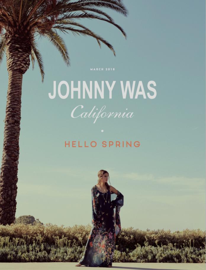 Johnny Was Hello Spring