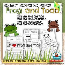 frog-and-toad-reader-response-pages