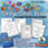 first grade, children's literature, only one you, reader response pages