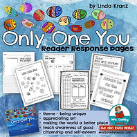 Only One You, Children's Literature, Writing Prompts, MrsQuimbyReads