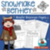 snowflake bentley, reading response graphic organizers,MrsQuimbyReads, teaching resources, children's literature