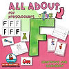 letter F - learning the alphabet