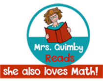 MrsQuimbyReads, teaching resources, children's literature, literacy, math