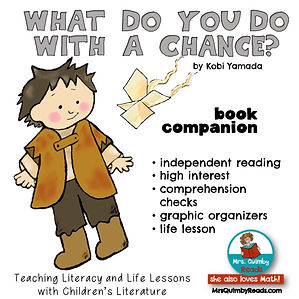 What Do You Do With A Chance_ Book Compa