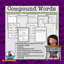 teaching resources, compound words, grammar, literacy instruction, second grade