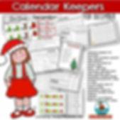 teach calendar math for December, teaching resources, math centers, primary grades