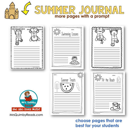 Summer Journal -pages