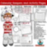 teaching resources for calendar math, February, math centers, primary grades, teaching resources