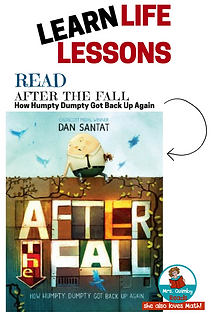 after the fall, reading response graphic organizers, childre's literature
