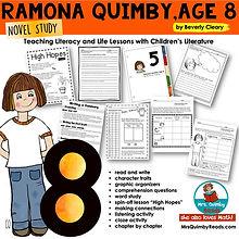 Ramona Quimby, Age 8 - novel study