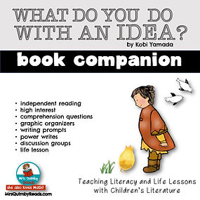 What Do You Do With An Idea? Book Compan