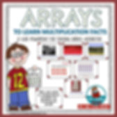 arrays, multiplication, powerpoint to teach arrays, math lessons, teacher resources