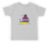 Boys' design, tugboat, t-shirt