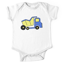 dump truck t-shirt design