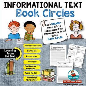 Informational Text Book circles