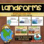 landforms, presentation, teaching resouces, mrsQuimbyReads
