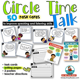 circle time- talk and listen
