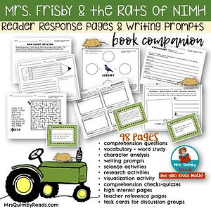 MrsFrisbyandRats of Nimh