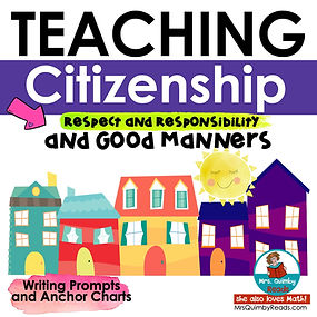 teaching citizenship writing prompts