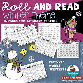 Roll an Read - Primary Grades