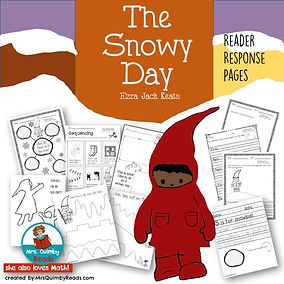 the snowy day, children's literature, teaching resouces