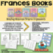 Frances books, A birthday for Frances, A Baby Sister for Frances, Best Friends for Frances, A Bargain for Frances, reading instruction, teaching resources, beginning writers