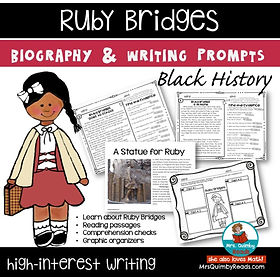 Ruby Bridges - Black History-Writing Pro