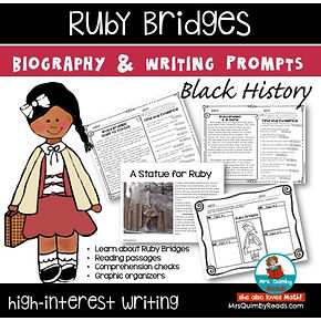 Ruby Bridges - Black History-Writing Pro