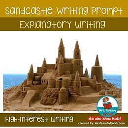 sandcastle-writing