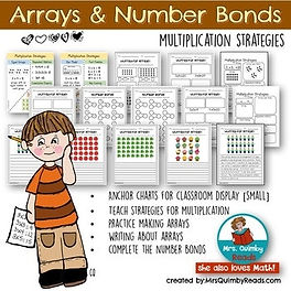 multiplication practice, teaching resources, MrsQuimbyReads, math resources