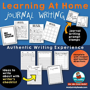 distance learning - journal writing