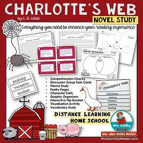 Charlotte's Web | Novel Study | Book Com