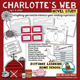 Charlotte's Web _ Novel Study _ Book Com