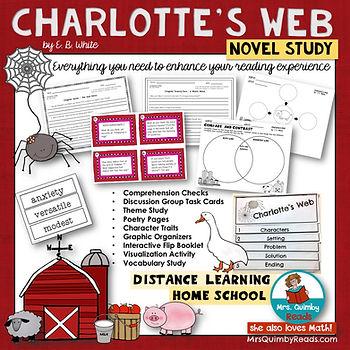 Charlotte's Web _ Novel Study _ Book Com