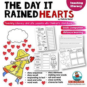 Day It Rained Hearts - Book Companion