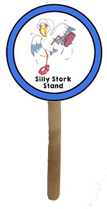 Silly Stork Stand