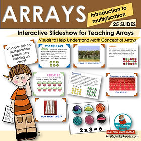 Arrays - Learning Multiplication