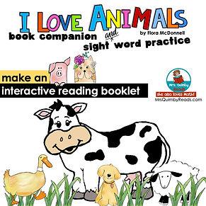 I love Animals - Book Companion