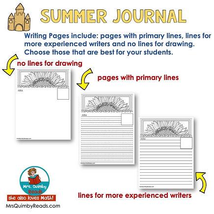Summer Journal -header