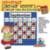 teach calendar math for september