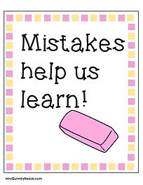 growth mindset- mistakes